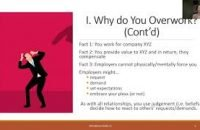 """Push back against unreasonable work demands and stop the chronic overworking. Say """"No"""" to Chronic Overworking"""